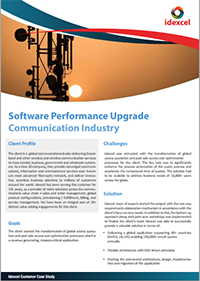 Software Performance Upgrade for Communication Industry